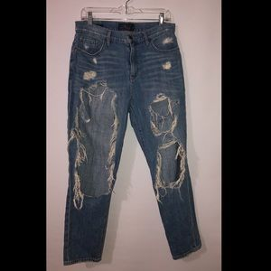 Lucky Brand ripped jeans!